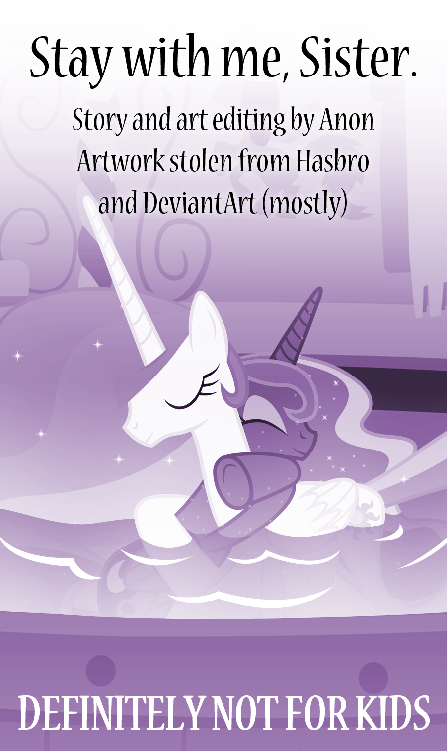 Anon Mlp Comic stay with me, sister | comics | mares | hexstream's classy